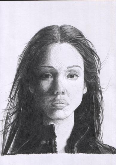 Jessica Alba by Kotori